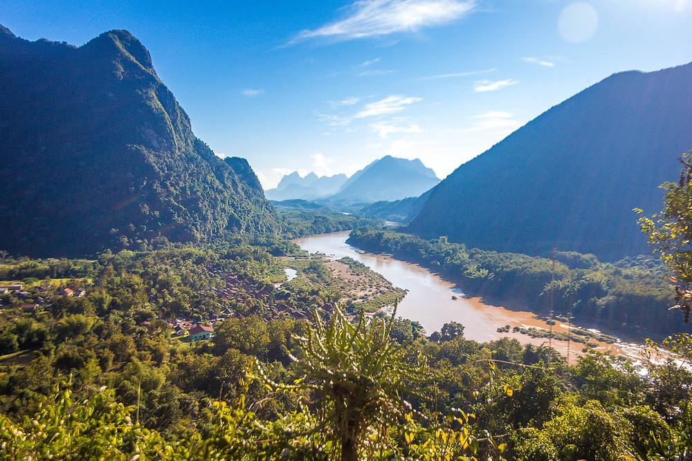 Beautiful views in Laos