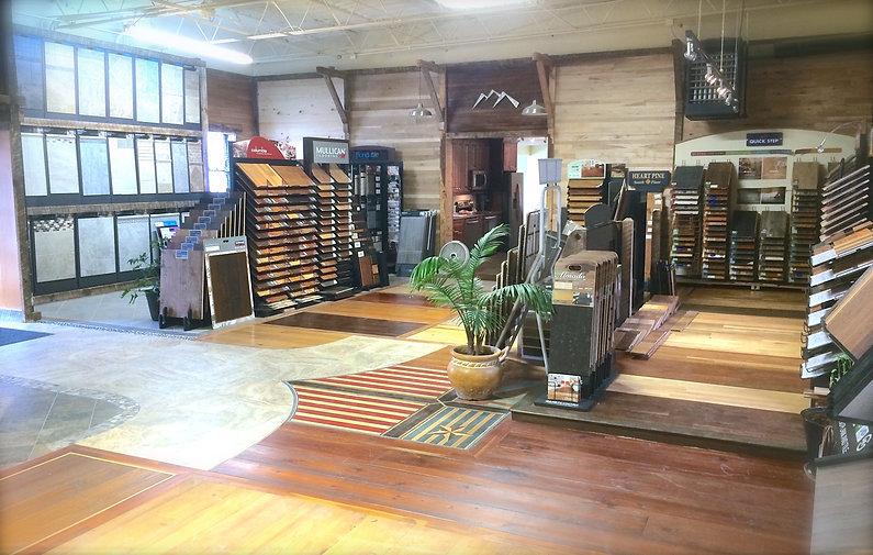 Flooring Showroom Blue Ridge Floors Asheville Nc