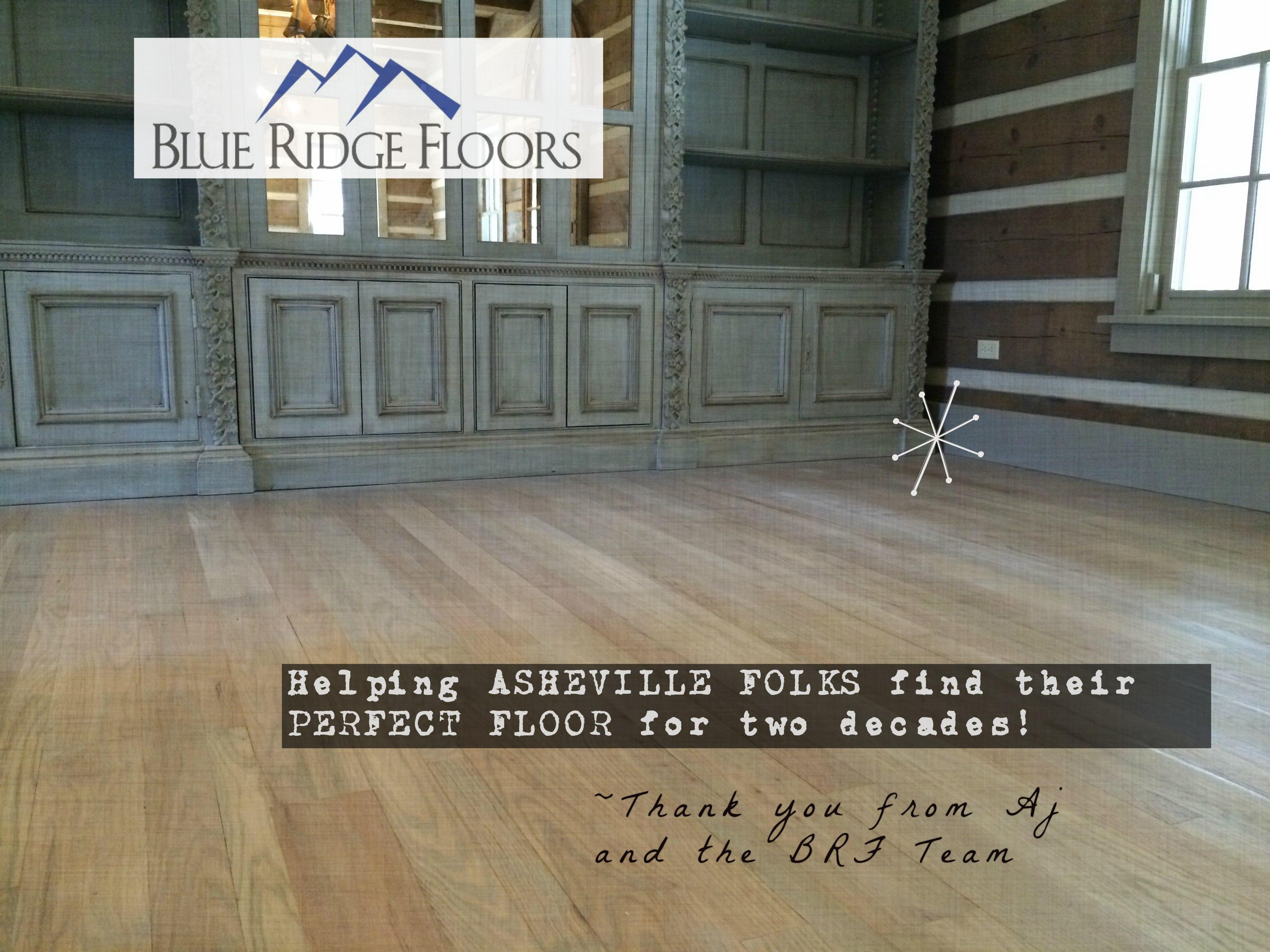 Blue Ridge Floors Custom Asheville Hardwood Flooring