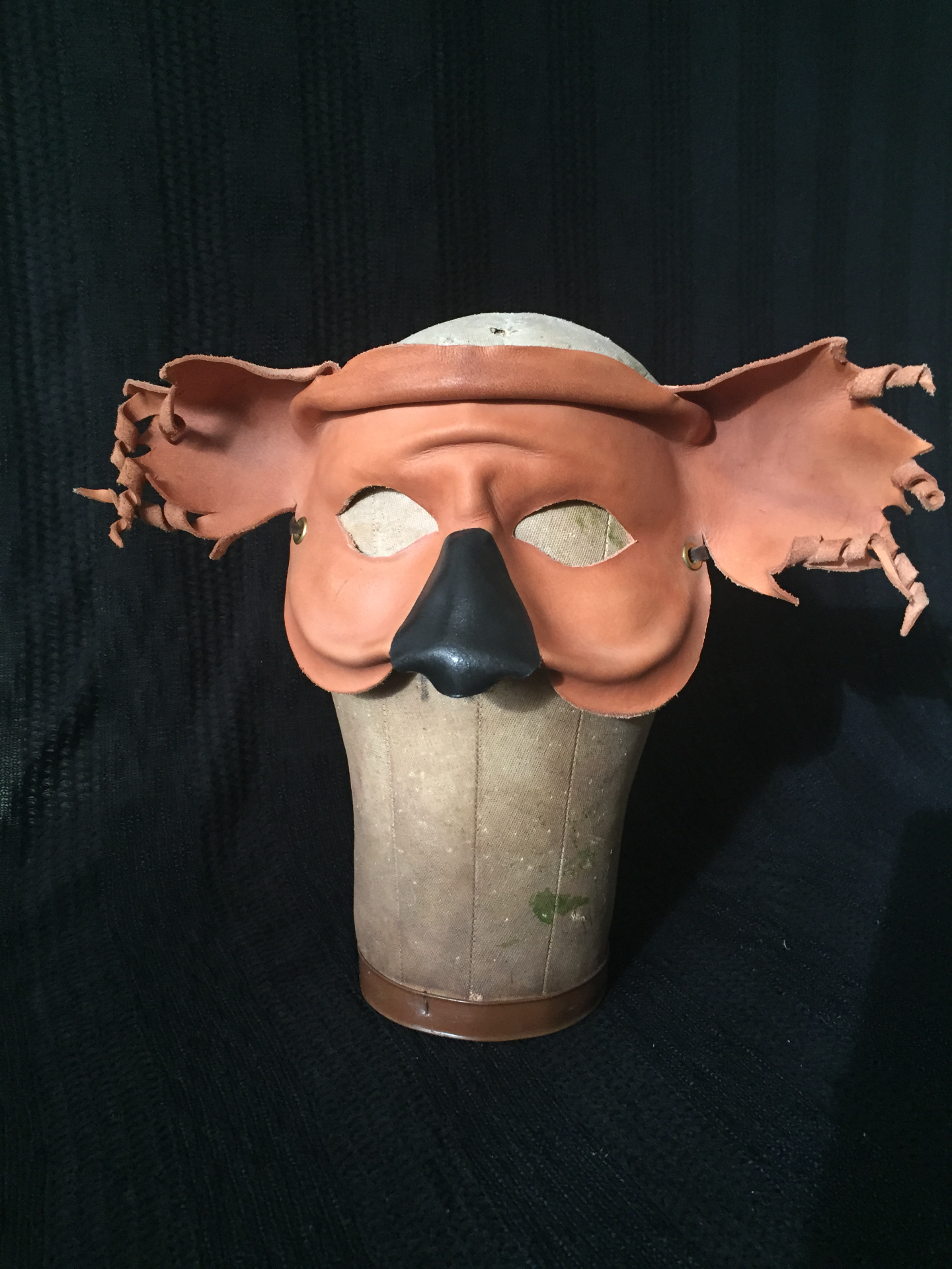 Leather Koala Mask