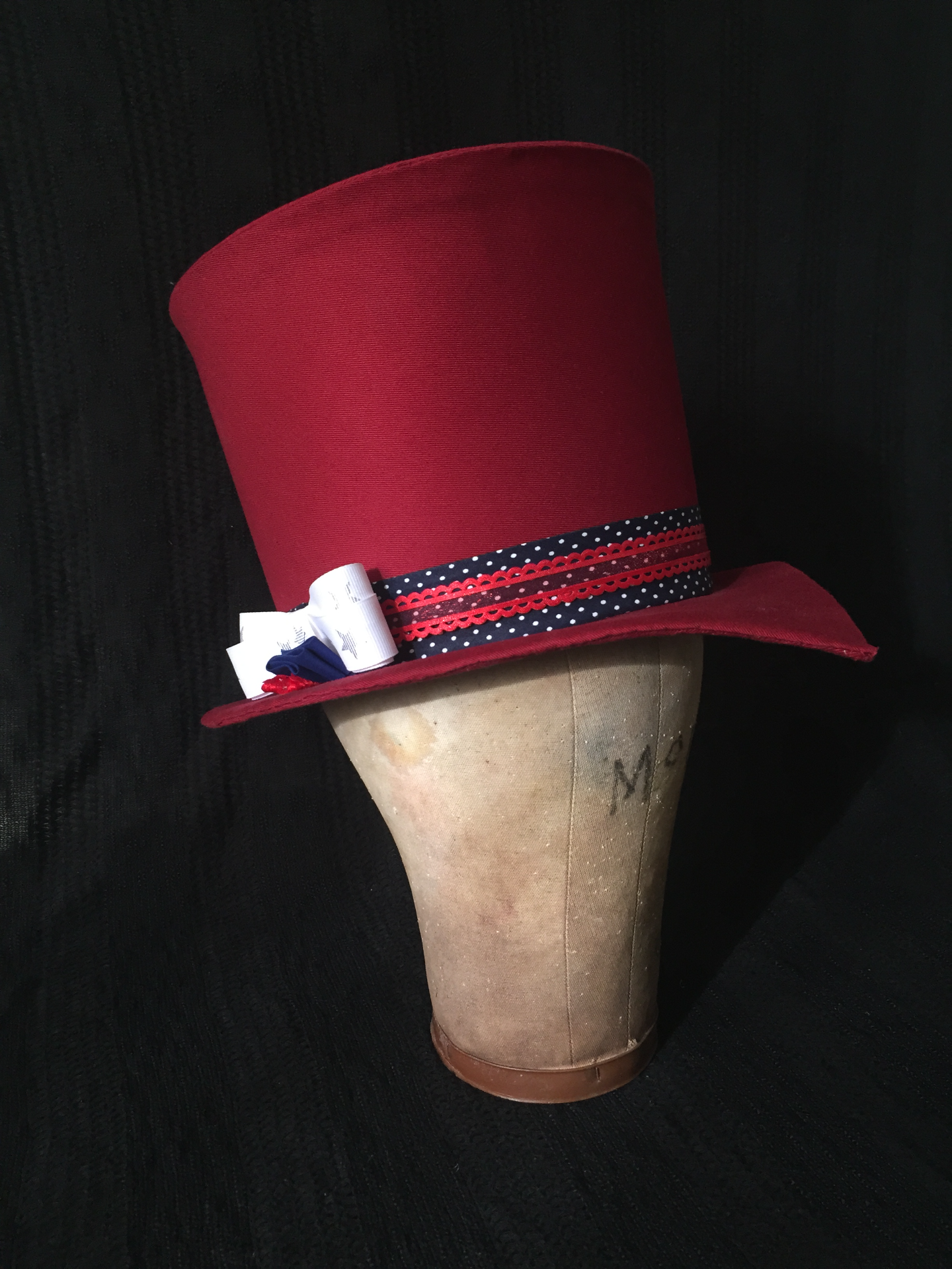 Buckram Top Hat