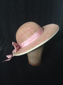 Buckram Blocked Hat