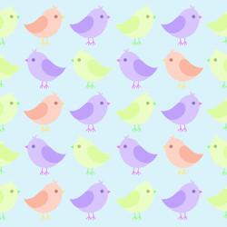Bird Textile Print