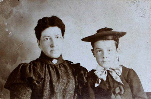 Everett Grieve and Mother