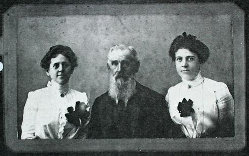 Alexander Wilson and daughters
