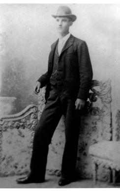 "carte-de-visite image of William ""Charles"" Patterson"