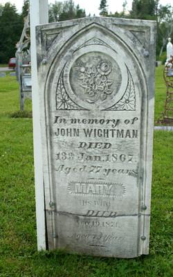 JOHN WIGHTMAN GRAVESTON