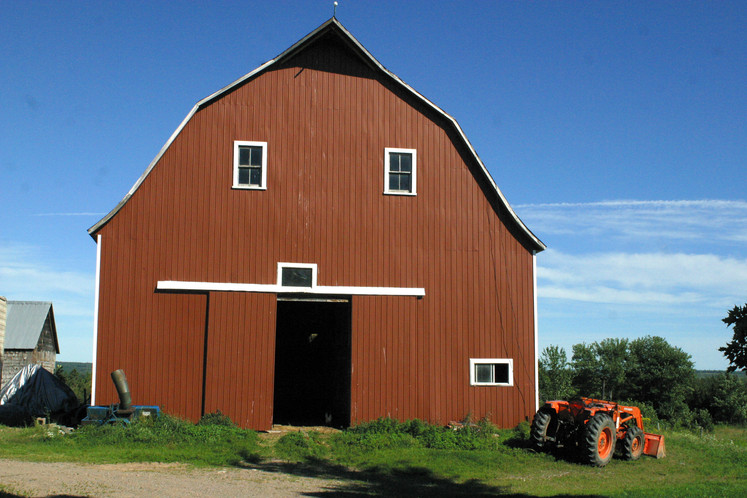 Barn at patterson homestead