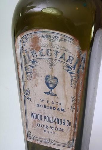 Wood Pollard & Co Liquor bottle