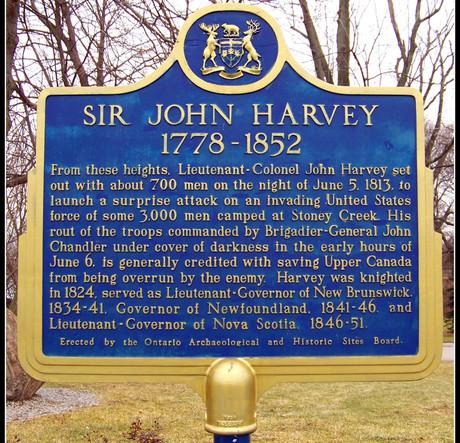 Sir John Harvey 1778-1852