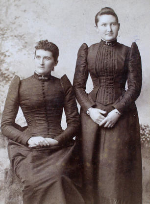Aunt Maggie (Messer) Haines & Aunt Sadie Fisher