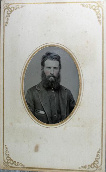 """carte-de-visite image of James Wesley """"Jim"""" Patterson"""