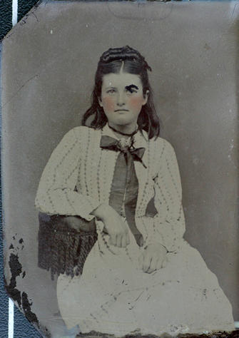 """Aunt Maggie"" Margaret (Messer) Haynes"