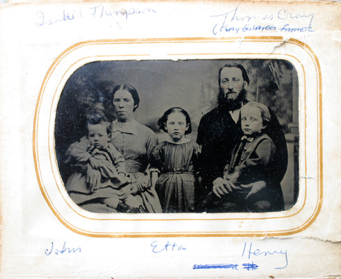 Family portrait of Thomas Craig