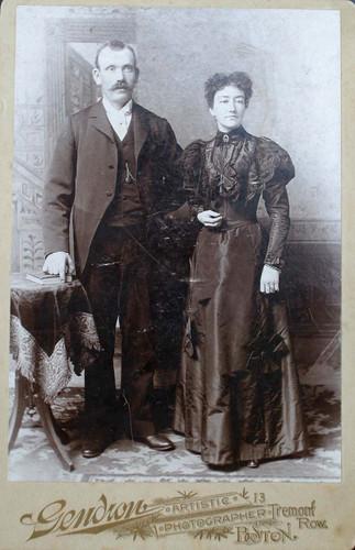 "David Grant Taylor and Margaret ""Maggie"" (Robison) Taylor"