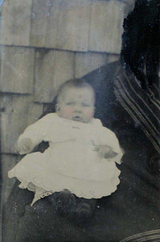 unidentified infant subject