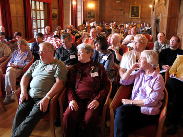 Harvey Settler Reunion attendees