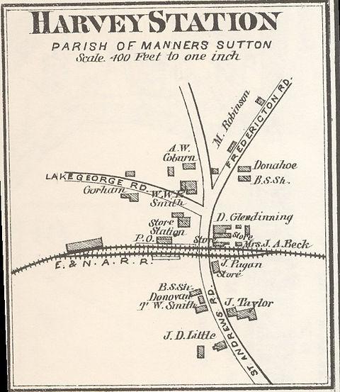 harvey station