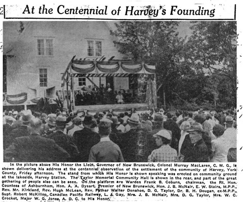 At the Centennial of Harvey's Founding.
