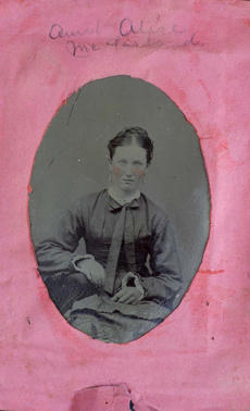 """Aunt Alice McFarland"" Alice Isabella (Messer) McFarland"