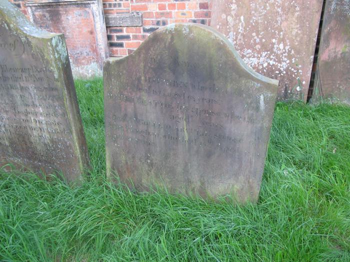 William Haughan Gravestone