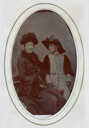 two well-dressed ladies