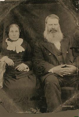 John Moffitt and Wife Ellen Nellie Davidson
