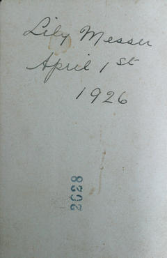 Image of back of image