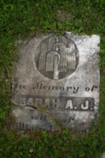 Sarah A.J. Gravestone