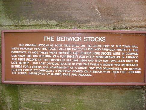 The Berwick stocks