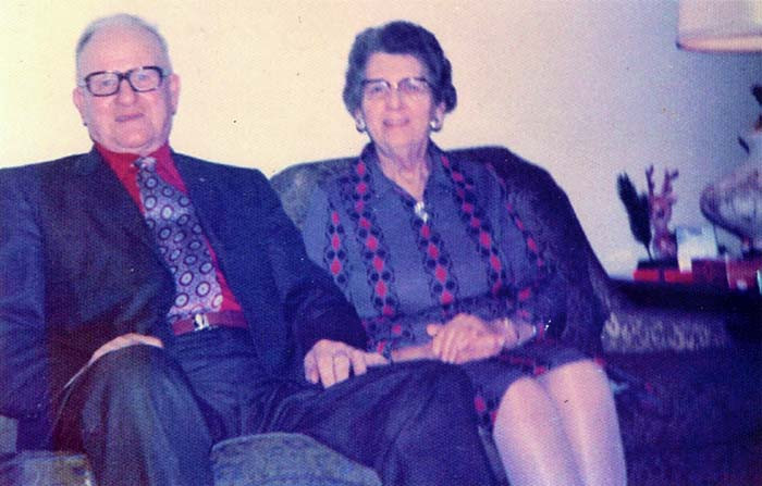 """Thomas """"Russell"""" Moffitt & Wife Amy May Brown"""