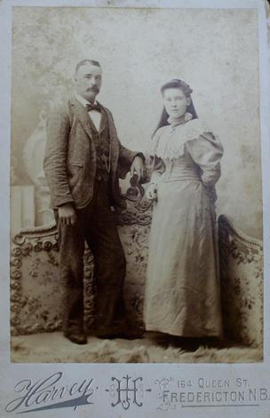 Andrew Robison & wife Celia Little