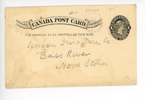 1896.08.13.Post Card (front)