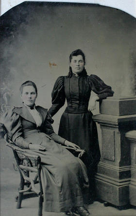 unidentified female subjects