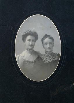 "Margaret ""Maggie"" (Robison) Taylor & and sister Jane ""Janie"" (Robison)"