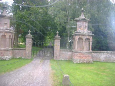 gates of Chillingham Castle