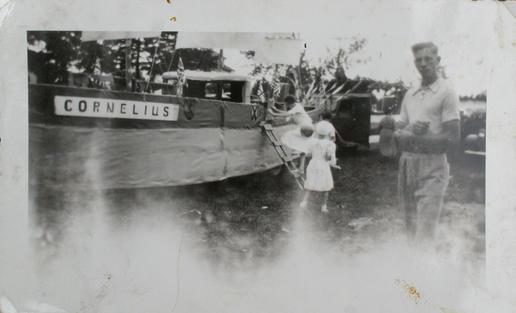 Cornelius of Sunderland float