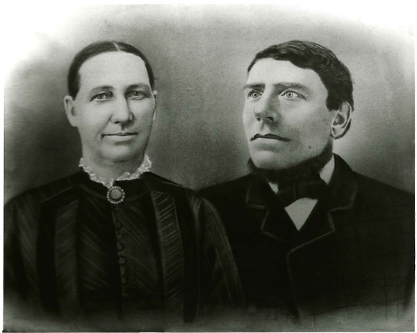George W. Brown and Wife Alice E Messer