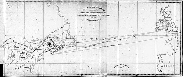 Chart of the Atlantic