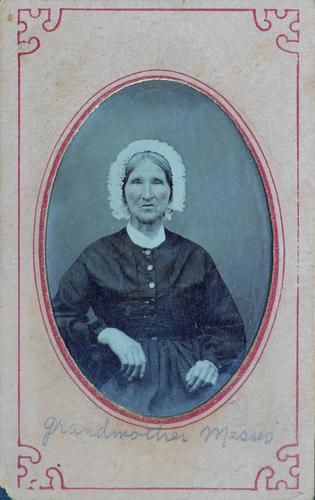 """Grandmother Messer"" Alison (Brown) Messer"