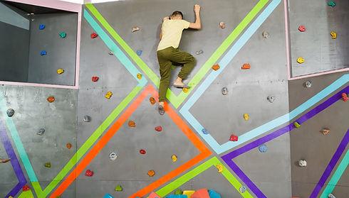 Tırmanma duvarı modeli