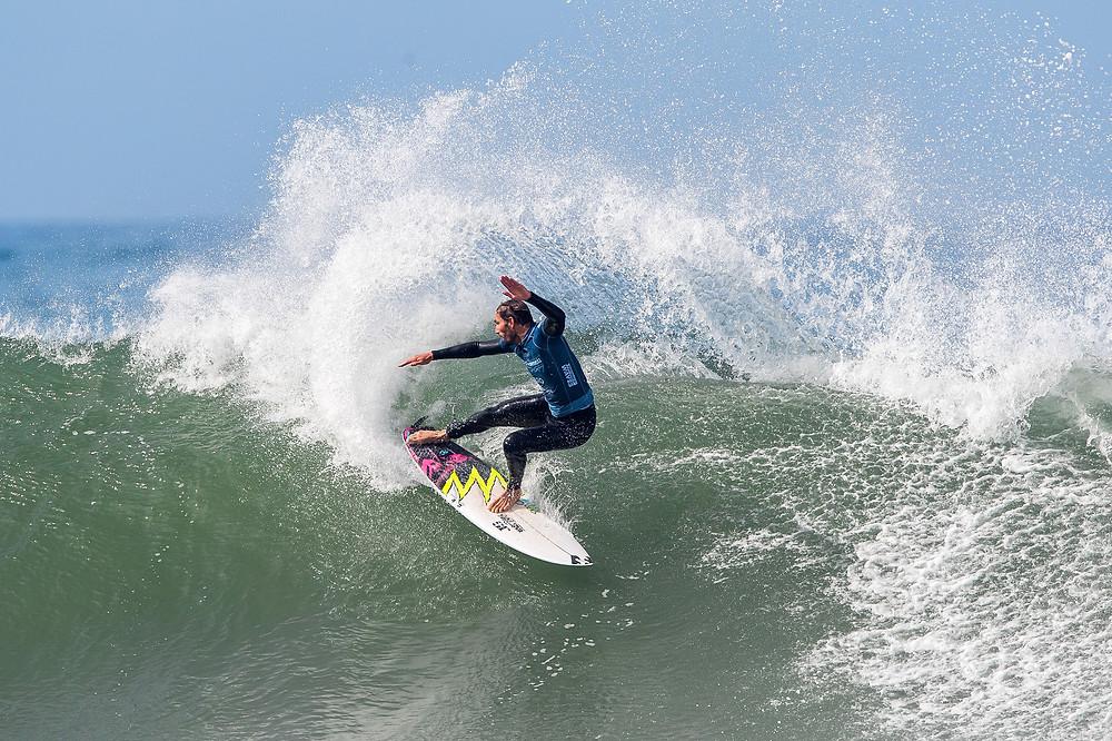 Frederico Morais campeão do MEO Portugal Cup of Surfing