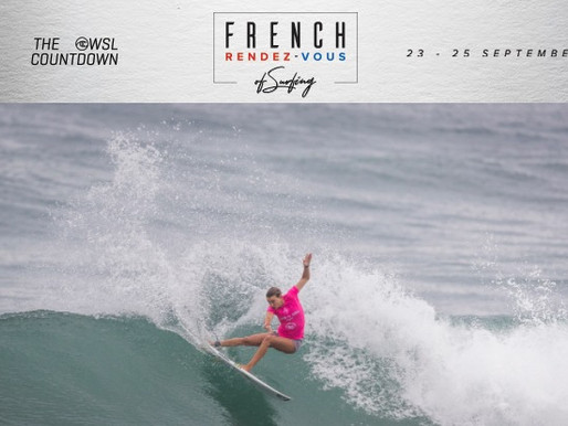 French Rendez-Vous: Primeiro evento da WSL Countdown na Europa está ON
