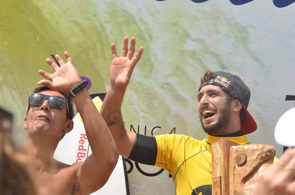 Lucas Chumbo campeão em Regência