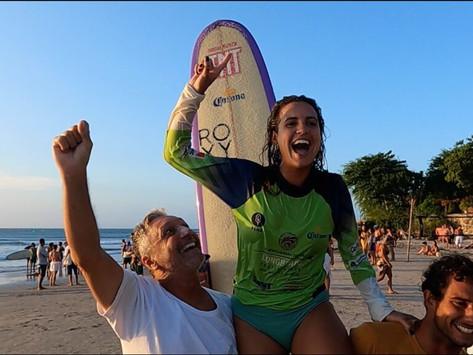 Jeri Long Festival define Chloe Calmon campeã brasileira de longboard profissional 2020