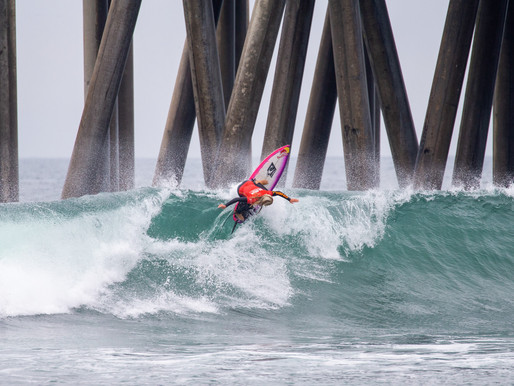 Caity Simmers, 15 anos, vence o US Open of Surfing, primeira etapa do Challenger Series 2021