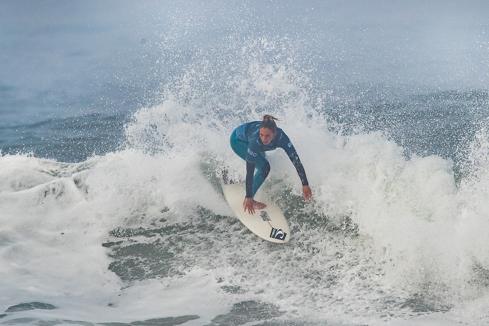 Nadia Erostarbe vice do MEO Portugal Cup of Surfing