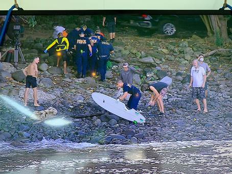 Finais do MAUI PRO adiadas pela WSL por tempo indeterminado após incidente com tubarão na terça