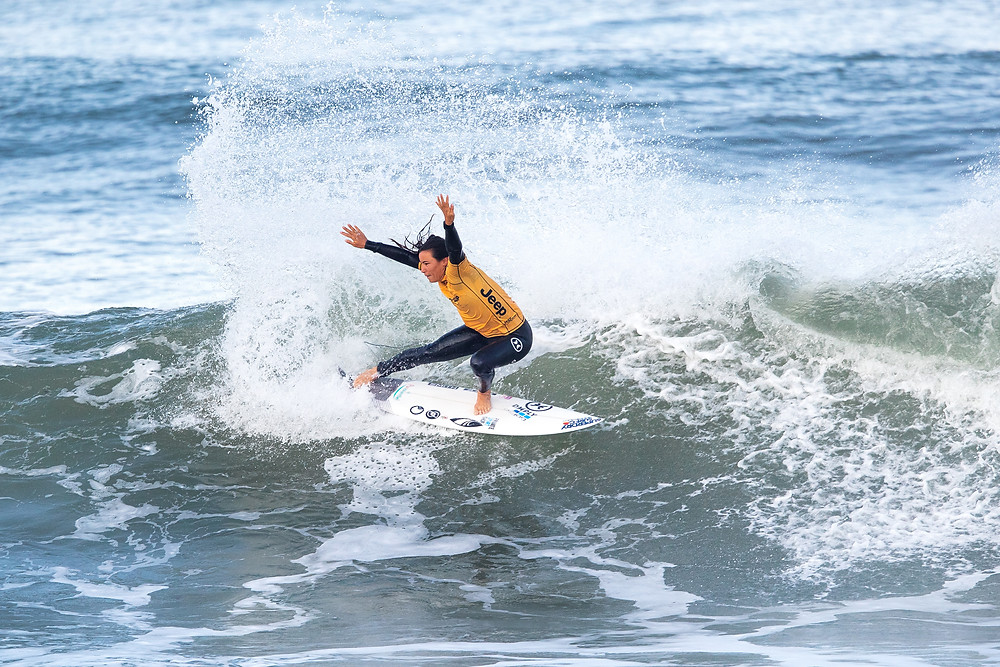 Johane Defay no MEO Portugal Cup of Surfing
