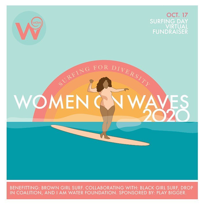 Women on Waves 2020 Poster